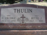 Thulin, H Frederic (Popie)